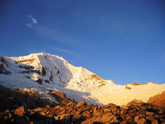 Ice Climbing Mount Copa Cordillera Blanca Perú